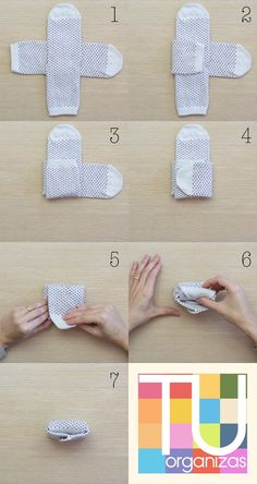 Meias, como dobrar, pendurar e guardar Folding socks just became a thing! How to fold socks & store~♡ Organize socks to fit in drawers Not Marie Kondo but interesting Home Organisation, Storage Organization, Clothing Organization, Dresser Drawer Organization, Organizing Ideas, Organization Ideas For Bedrooms, Diy Drawer Organizer, Small Closet Organization, Closet Ideas