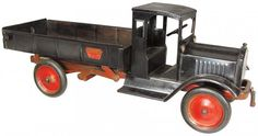 *DUMP TRUCK ~ Keystone Toy Pressed Steel