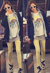 yellow leggings :)