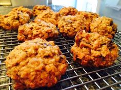 Pumpkin-oat chocolate chip cookies--too delicious not to share!