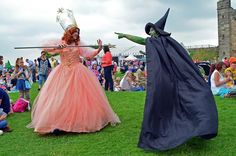 Wicked #cosplay | Fairy Tale Weekend at Tutbury Castle 2013
