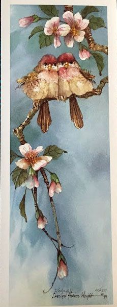 Blossom Time II 16 x 6 lithograph