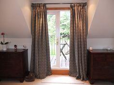 Pencil Pleat Curtain Pleated Curtains, Pencil Pleat, Interiors, Home Decor, Ruffle Curtains, Decoration Home, Room Decor, Decor, Home Interior Design