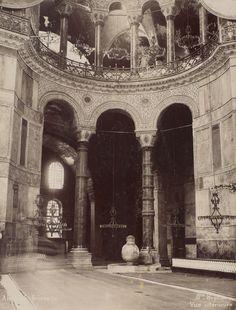 Ayasofya Sütunları Abdullah Fréres / 1880