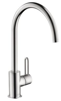 Hansgrohe 38030001 Axor Uno Faucet High Spout, Chrome at PlumberSurplus.com