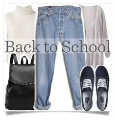 """""""Back to School Style"""" by madeinmalaysia ❤ liked on Polyvore featuring Étoile Isabel Marant, Levi's and Vans"""