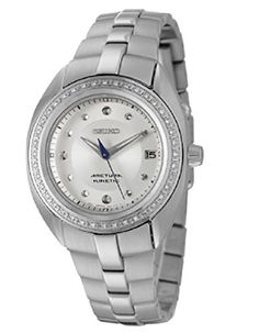 Seiko Arctura Women's Kinetic Watch SKA893 ** Want additional info? Click on the image.
