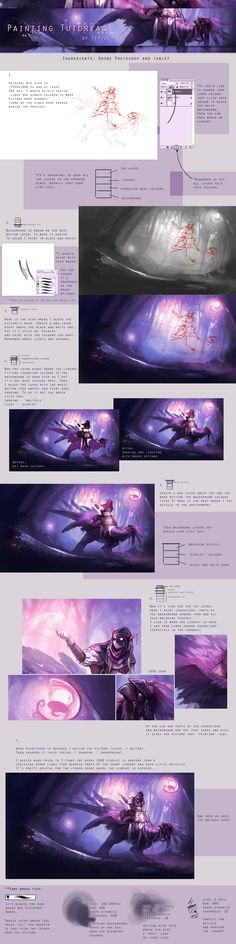 Digital Painting Tutorial by ~Tervola on deviantART