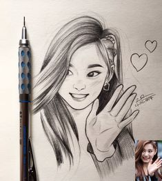 huskyTzu on - Anime Drawings Sketches, Girly Drawings, Kpop Drawings, Cool Art Drawings, Pencil Art Drawings, Cartoon Drawings, Cartoon Art, Couple Drawings, Girl Sketch