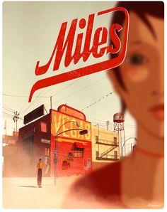 Superprod - Miles | Réalisateur et concept graphique : Rébecca Dautremer