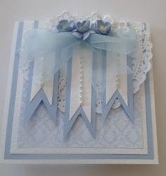 If you need any help with your Card Making please post a comment, and I will get back to you as soon as I can. Ribbon Cards, Paper Ribbon, Paper Crafts, Diy Crafts, Card Crafts, Shabby Chic Cards, Scrapbook Cards, Scrapbooking, Paper Fans