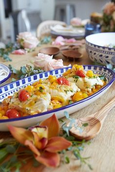 Slow Roasted Halibut with Cherry Tomatoes and Shallots