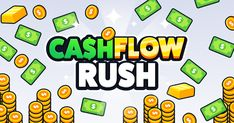 Cashflow Rush: Money & Cash Game - Get Rich Quick Get Rich Quick, How To Get Rich, Clicker Games, Rich Money, Hard To Get, Games To Play, Apps, Aktiv, 30 Seconds