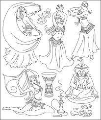 Resultado De Imagen Para Imagenes De Gitanas Pintar Bailarinas Arabes Danza Dibujo Tatuajes De Baile