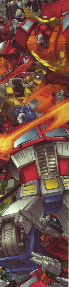 Can't get enough of Transformers, my favorite childhood toys (are they even marvel? Idk, ima post it here anyways)