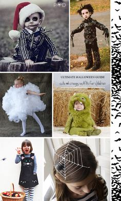 Ultimate Halloween Guide: What to Wear ~ Kids outfit ideas on http://www.pocketfulofdreams.co.uk