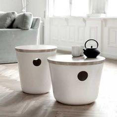 DESIGNDELICATESSEN- Kähler - Unit keramikkmøbel - råhvit