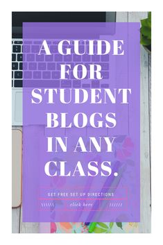 Give your middle school and high school students a voice with this guide to blogging with students in the classroom. This writing program is the total package for helping students hone their writing skills. Easy to follow lesson plans, along with ways to accommodate for special education and gifted students Writing Lesson Plans, Writing Curriculum, Writing Lessons, Writing Skills, Middle School Writing Prompts, 8th Grade Writing, Middle School Reading, Co Teaching, Teaching Methods