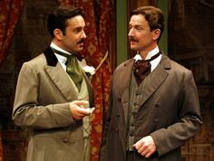 Jack and Algie, old bean! THE IMPORTANCE OF BEING EARNEST (Mon 8 - Sat 13 April)
