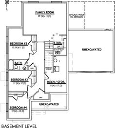 Pictures of l shaped basement stairs build stairs to for Basement floor plans with stairs in middle