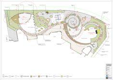 Centro Hazel Glen para Crianças e Famílias,Planta Conceitual
