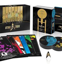 rogeriodemetrio.com: Star Trek 50th Anniversary TV and Movie Collection...