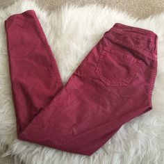 Red True Religion Shannon Cords Comfy, soft True Religion cords in the color Shannon. Like new condition, worn maybe 2-3 times. True Religion Pants Skinny