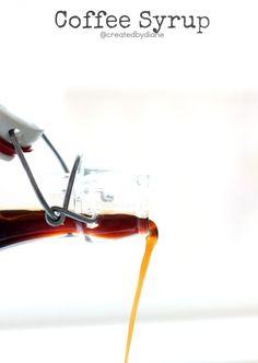 Coffee Syrup @createdbydiane
