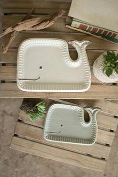 Cute whale tray.