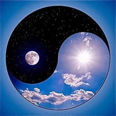 17 best images about yin yang on wolves Arte Yin Yang, Yin Yang Art, Yin Yang Tattoos, Jing Y Jang, Sun In Libra, Easy Meditation, Day For Night, Pompeii, Sacred Geometry
