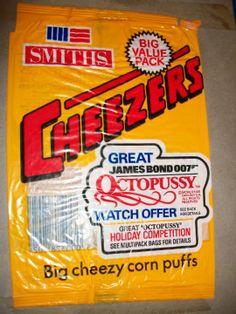 Cheezers Smiths Crisps Old Sweets, Vintage Sweets, Retro Sweets, Retro Packaging, Food Packaging, 80s Food, Retro Food, Crisps Brands