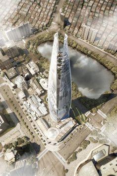KPF's Lotte World Tower Jeopardized by Mysterious Sinkholes