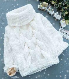 "Best 11 Turtle Neck Sweater ""Red heart"" – Made to order – Family look – Kids Sweater – Kids fashion – Kids Knitwear – SkillOfKing. Sweater Knitting Patterns, Knitting Stitches, Knitting Yarn, Hand Knitting, Crochet Patterns, Knitting Sweaters, Crochet Baby, Knit Crochet, Pull Bebe"