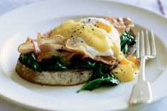 A classic treat, eggs Florentine make a perfect Sunday breakfast or brunch.