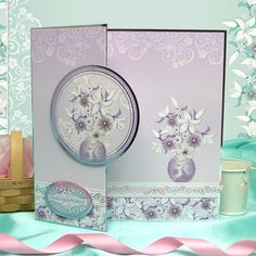 Hunkydory Thoughtful Moments die cut toppers & card