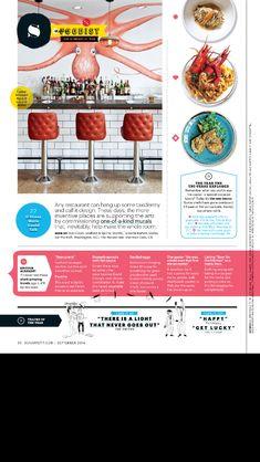 magazine editorial design