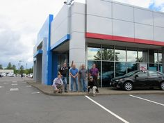 Meet some of our Sales team; from the left- Travis, Tom, Greg, Nery, Joe, and Cory #Sales #Dealership #Team #Comeby