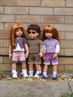 Gotz and My Sibling/My Pal doll Photo Pam Elliott