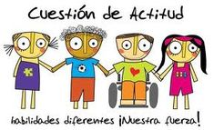 La diversidad no debe verse como un problema, sino como un desafío y como una fuente de riquezas para el aprendizaje...hay que aprovecharla!