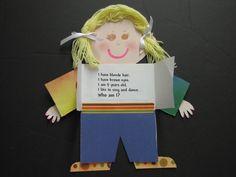 Great first week of school activity-Cute!