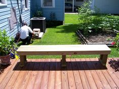 HandymanWire - Bench Plans Photo