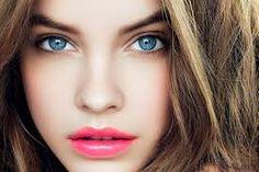 natural makeup for blue eyes dark hair