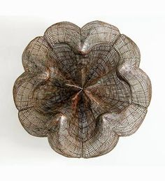 Contemporary Basketry: Wire & Metal Mesh, Sakura, Bronwyn Oliver