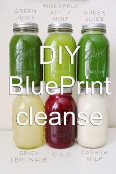 A while back I created a DIY BluePrint cleanse , a juicing detox that you can do. - A while back I created a DIY BluePrint cleanse , a juicing detox that you can do at home without sp - Juice Cleanse Recipes, Detox Diet Drinks, Detox Juice Cleanse, Smoothie Detox, Juice Smoothie, Detox Recipes, Smoothie Recipes, Detox Juices, At Home Juice Cleanse
