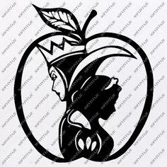 Snow White Svg File - Disney Princess Svg - Princess Snow White Svg - – SOFVINTAJE Disney Silhouette Art, Disney Princess Silhouette, Arte Disney, Disney Art, Snow White Drawing, Snow White Art, Snow White Tattoos, Craft Images, Snow White