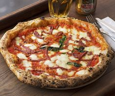 Pizza Pilgrims London - cheese from Alex James' farm
