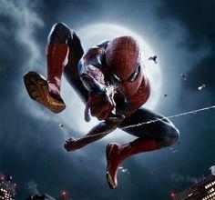 Iconic Spider-man pose
