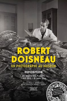 Robert #Doisneau : un photographe au #Muséum d'histoire naturelle