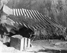 Woman stands in midst of the St. Francis Dam devastation, 1928 | Security Pacific National Bank Collection, Courtesy of the Los Angeles Public Library