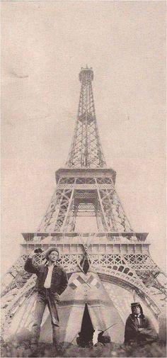 In Paris 1959 for Harper's Bazaar